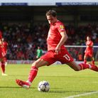 Theo Archibald of Leyton Orient goes close during Leyton Orient vs Oldham Athletic, Sky Bet EFL Leag