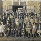 A September 1931 photograph showing members of United Reformed Church's Young Person's Association.