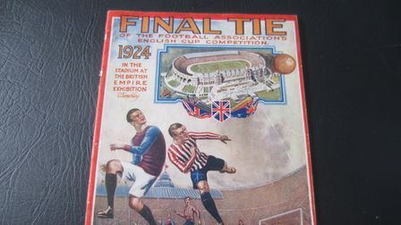 A 1924 FA Cup programme