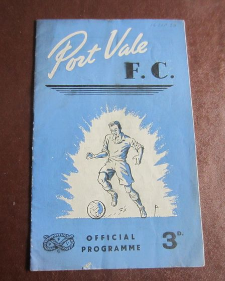 Port Vale FC from 1930