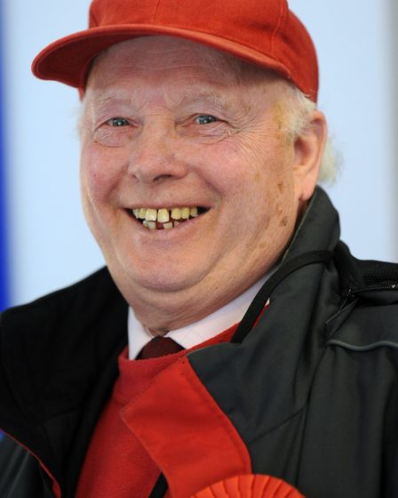 Jim Powell when we was re-elected as councillor in 2010