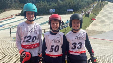 Youngsters enjoying the David Beckett Commemorative Races event