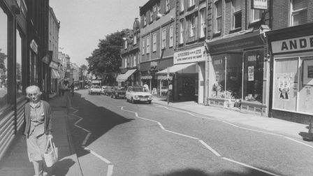 Norwich Streets -- SSt. Benedict's StreetDated -- 24 July 1985Photograph -- C4948