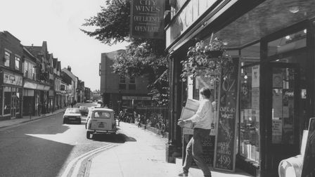 Norwich Streets -- SSt. Benedict's Street looking from the city centreDated -- 26 July 1988
