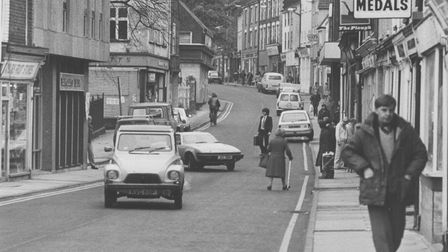Norwich Streets -- SSt. Benedict's StreetDated -- 16 November 1979Photograph -- C4943