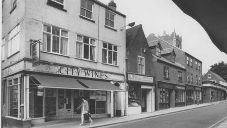 Norwich Streets -- SSt. Benedict's StreetDated -- 1990Photograph -- C4928