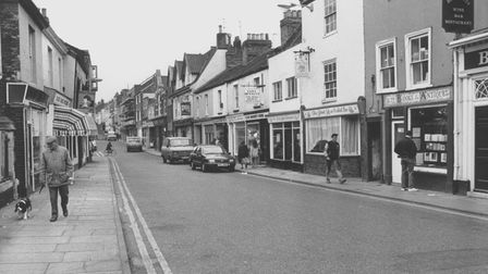 Norwich Streets -- SSt. Benedict's StreetDated -- 30 October 1987Photograph -- C4931