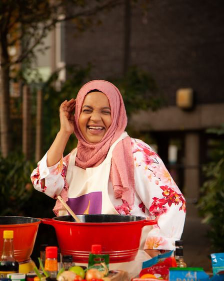 The cookery school is run by Migrateful to help refugees and migrants who run the classes