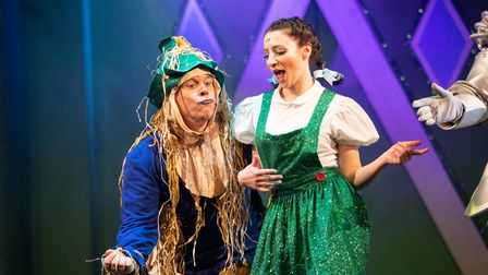 Family-friendly pantomime The Wizard of Oz can be seen at Saffron Hall this Christmas