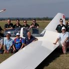 Paramedics were treated to a flying day at the Nene Valley Flying Club.