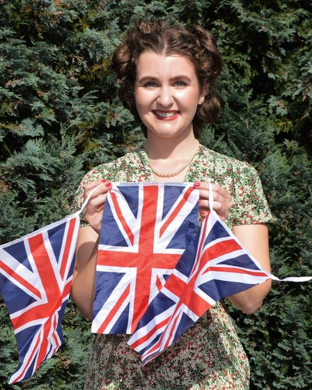Katie Thompson,one of the 1940s singers who will perform at Sheringham Little Theatre.