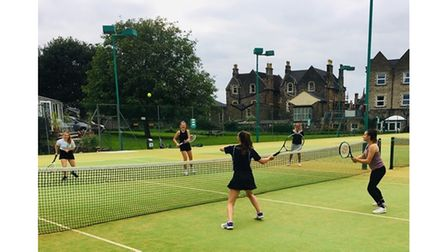 Clevedon Tennis Club's sessions will run between 4 and 6pm every Wednesday.
