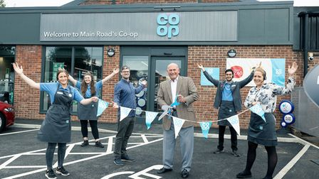 Co Op 42538 VC Friday High Road Romford Opening Rachel jackson VICTORIA Wilkinson Tommy Roberts