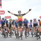 Wout van Aert's stage win at Aberdeen also gave him the overall win at the Tour of Britain.