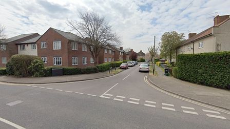 The junction of Ground Lane and Stonecross Road in Hatfield where the altercation occurred.