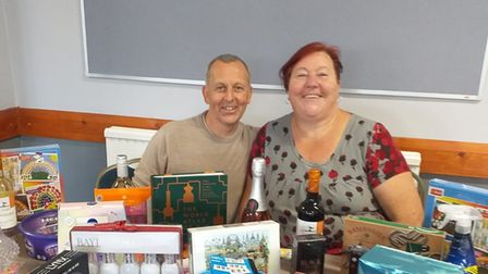 The Montagu Club has raised over £1,300 for two charities.