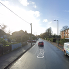 A motorcyclist has been taken to hospital following a crash in Ipswich