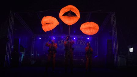 Puppets with Guts are performing in Great Yarmouth for the Out There Festival.