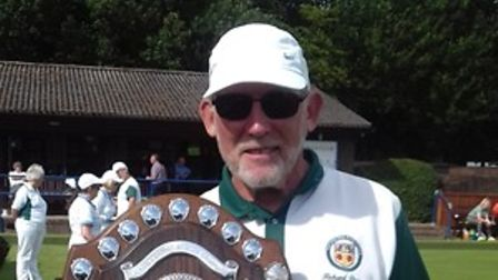 Richard Pearce of Potters Bar Bowls Club won the Harry Stanford Singles Shield.