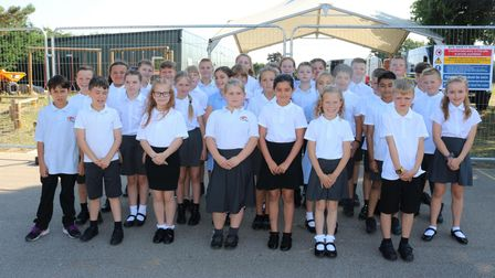 Langford Village Academy welcomed its first cohort of Year 5 pupils last week, marking its move from lower to primary school
