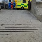 The Coast Guard Rescue Team in Bacton and theMundesleyindependent lifeboat were called to Bacton Beach