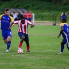 Athletic Newham in action against Clapton earlier this season