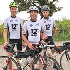 Cyclists Rob andPat Harbord and Carl Moorecompleted a 200 mile 'tour of Norfolk' in a day.