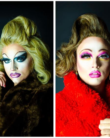 Bishy Barnabee and Anna Action are a Norwich drag couple who plan on showcasing the best of Norfolk's drag talent.
