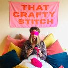 That Crafty Stitch's 24-hour knitathon takes place today (September 16)