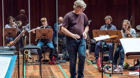 In rehearsals for The Weekend which runs at Bloomsbury Theatre this month