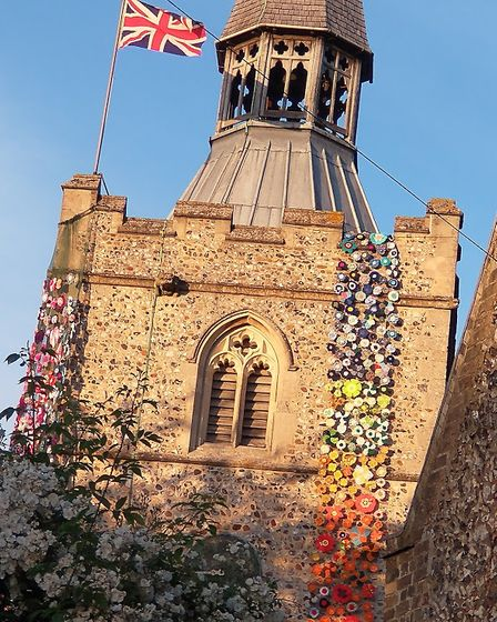 Barley Flower Tower is to be cut into pieces after being taken down at the end of September.