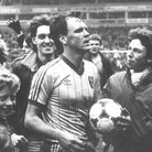 John Deehan scored top-tier trebles against Watford twice during 1984 Picture: Archant Library