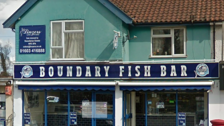 The Boundary Fish Bar, Norwich