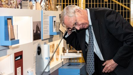 HRH Prince Richard, Duke of Gloucester, visiting The Hold. Picture: Sarah Lucy Brown