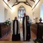 RevFelicity Couch andThe Bishop of Ely, the Right RevdStephen Conway