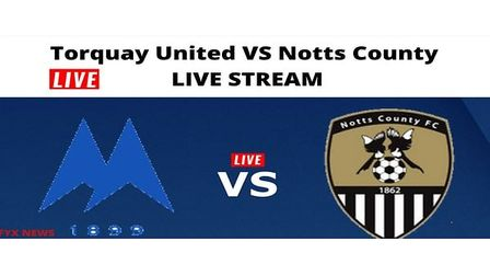 Torquay United vNotts County at Plainmoor last June was live streamed to fans around the world.