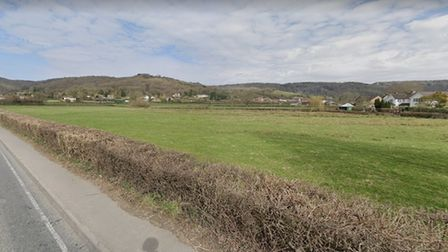 proposed site of 96 homes in Cheddar