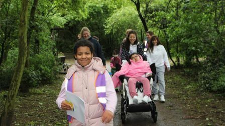 A series of free yoga and nature walks in Islington parks for children and young adults with additional needs