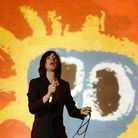 Bobby Gillespie of Primal Scream performs on the 4 Music stage at the V Festival in Chelmsford, Esse