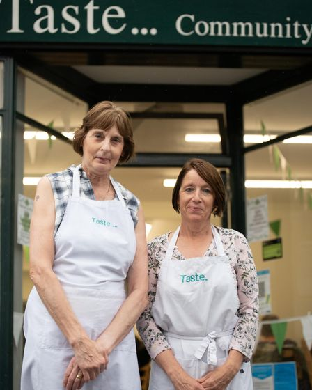 Sheila Soltysik and Anna Coleman are celebrating the 10th anniversary of their cafe. Picture: Sara