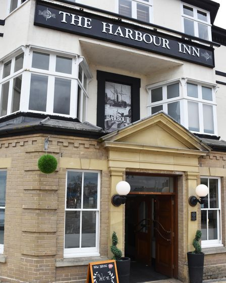The newly-reopened Harbour Inn, in Lowestoft.