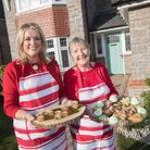 Louise Williams and Val Stones will prepare afternoon tea.