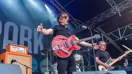 The Lightning Seeds atPub in the Park 2021 in St Albans.