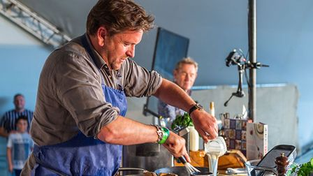James Martin atPub in the Park 2021 in St Albans.