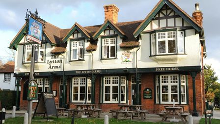 The Lytton Arms, in Old Knebworth