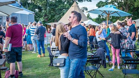 Pub in the Park 2021 in St Albans.