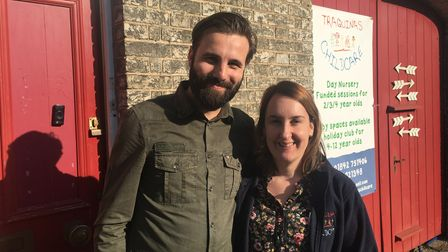 Paulo Meireles and Carla Ferreira run Traquinas nursery in Thetford and are aiming to save another n
