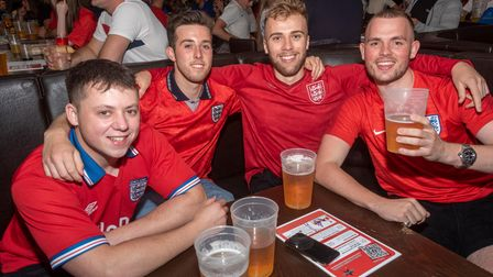 England fans have attended Weston bars throughout the Euros.