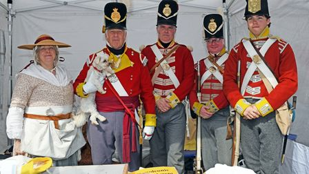 There was plenty to entertain the crowds at the Living History event in St Neots.