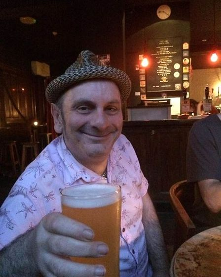 Ade Clarke, landlord of The Lamb pub in Holloway Road.